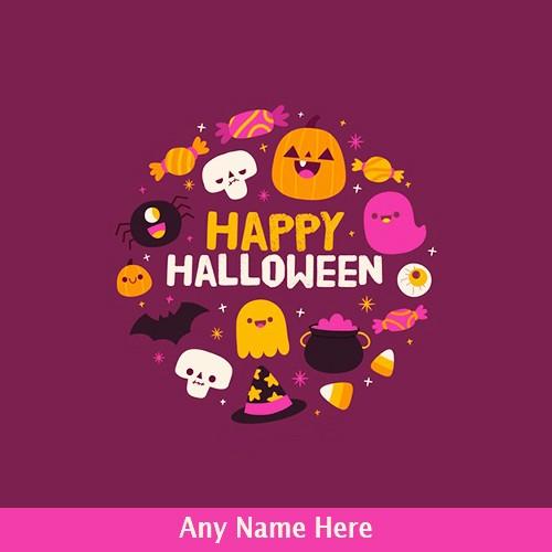 Halloween 2019 with name