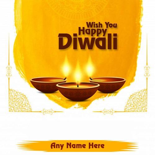 Wish You Happy Diwali 2019 With Name