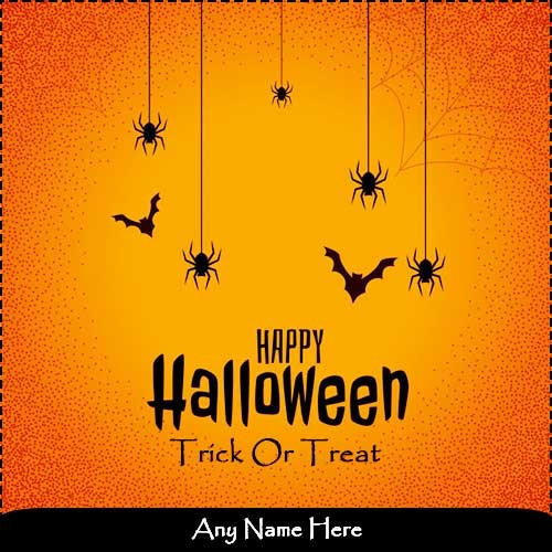 Happy Halloween Day 2019 Images with Name and Photo