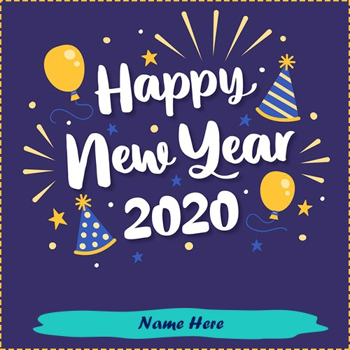 Happy New Year 2020 Background Images With Name