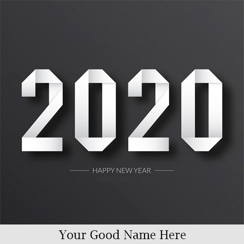 2020 Happy New Year Images Download With Own Name