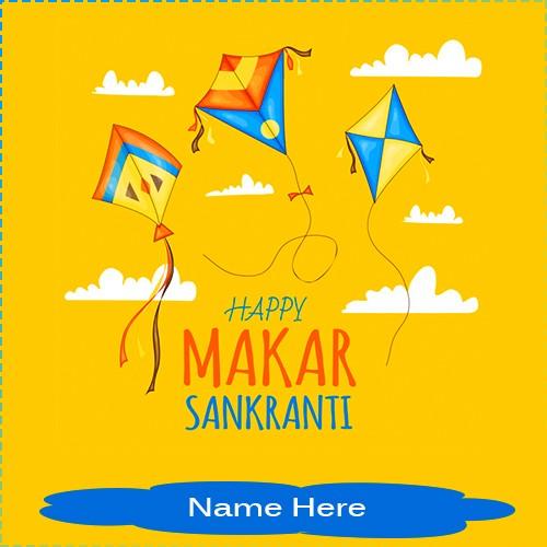 Makar Sankranti Pic 2020 With Name