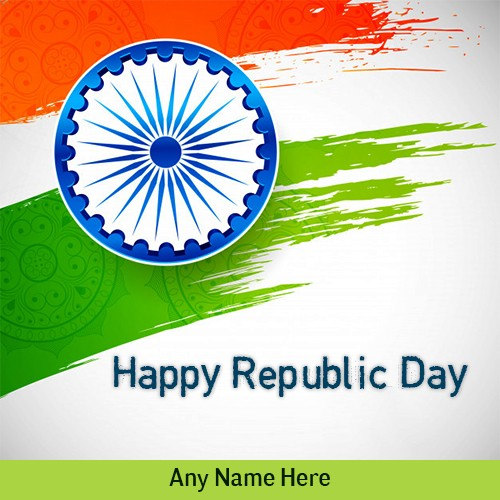 26 January Republic Day 2020 Welcome Pictures With Name