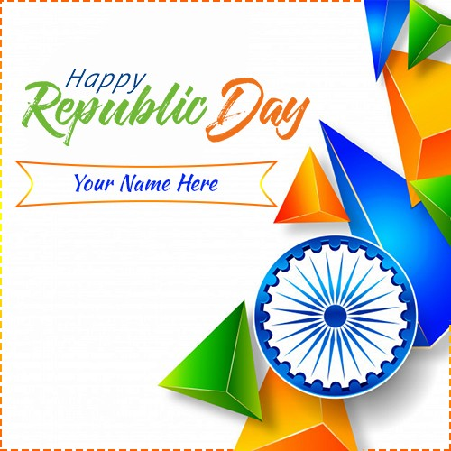 26th January Happy Republic Day 2020 Pics With Name Edit