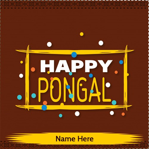 Happy Pongal 2020 Photos Download With Name