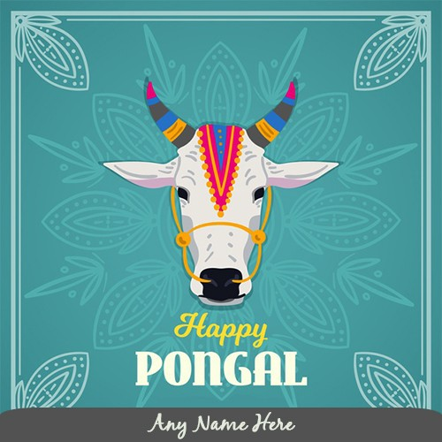 Happy Mattu Pongal 2020 Cartoon Photos With Name