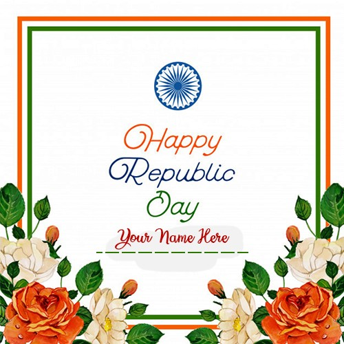 Happy Republic Day 2020 Card Pictures With Name