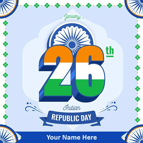 26th January 2020 Indian Republic Day Images With Name
