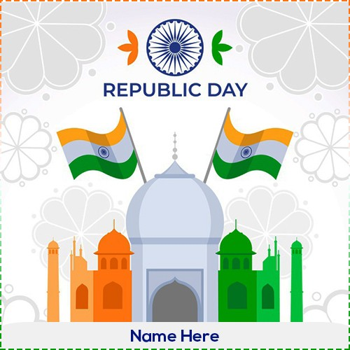 26 Jan Happy Republic Day 2020 Pics With Name