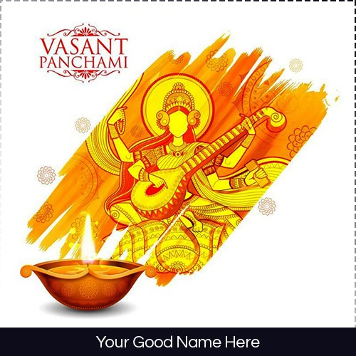 Basant Panchami 2020 Wishes Image With Name And Photo