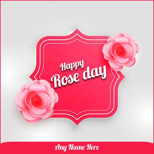 Happy Rose Day 2020 Picture With Name