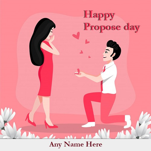 Propose Day 2020 Picture For Boyfriend With Name