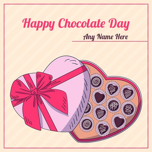 Chocolate Day 2020 Sweetheart Picture With Name