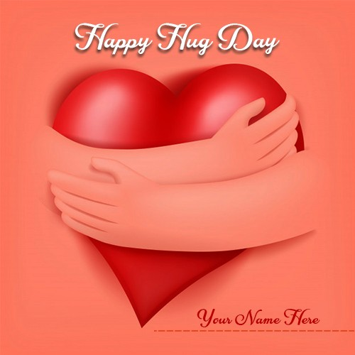 Happy Hug Day 2020 Image For Love With Name