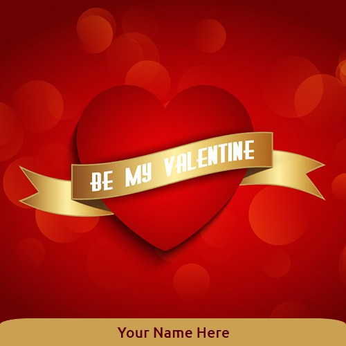 St Valentine Day 2020 Picture Heart With Name