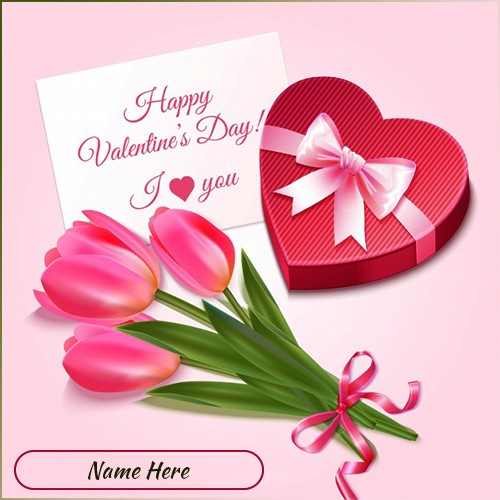 Valentine Day 2020 Card Messages With Name