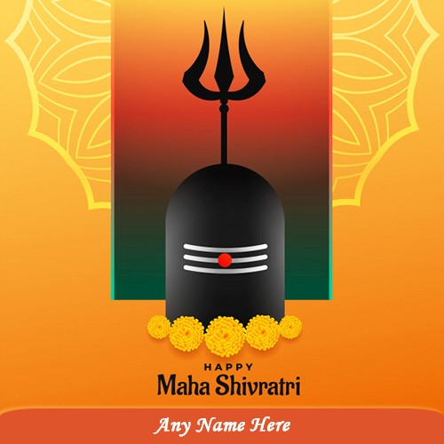 Happy Maha Shivratri 2020 Picture With Name In Advance