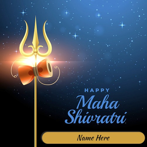 Shivratri 2020 Card With Name Edit