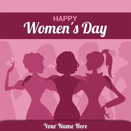 Happy Womens Day 2020 Images With Name