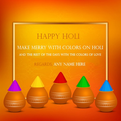 Happy Holi 2020 Images Quotes In English With Name