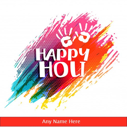 Advance Happy Holi Images 2020 With Name