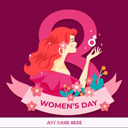 Happy Womens Day 2020 Images For Wife Name