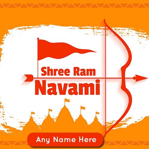Happy Ram Navami 2020 pics for WhatsApp Status with name
