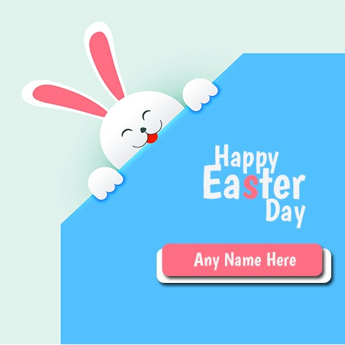 Happy Easter Bunny Cartoon Images With Name