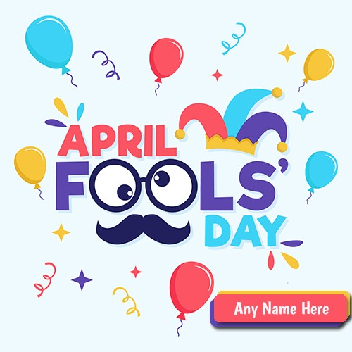 April Fools Pictures For Whatsapp Status DP With Name