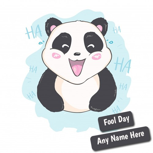 April Fool's Day 2020 wishes with Funny Panda images