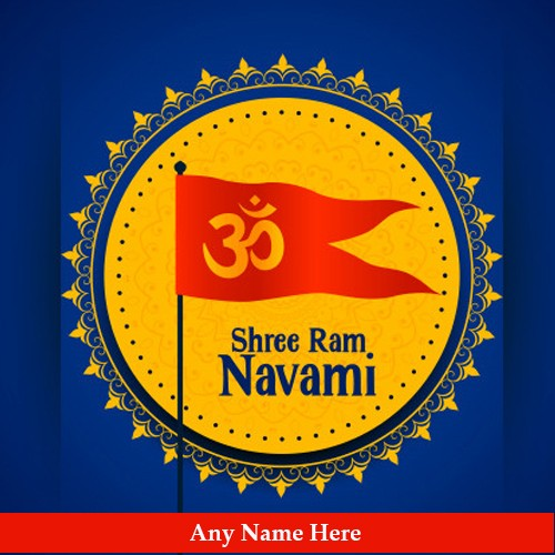 Ram Navami 2020 Picture With Name