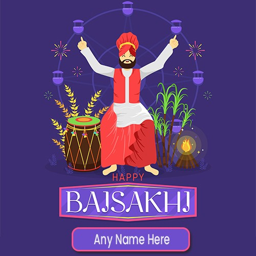 Happy Baisakhi Images 2020 With Name