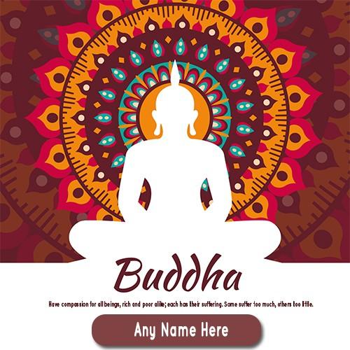 Buddha Purnima 2020 Greetings With Name