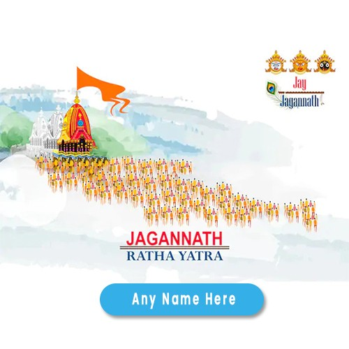 Happy Rath Yatra 2020 with name editor