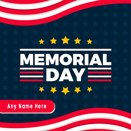 Memorial Day 2020 Images With Name